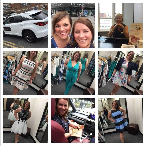 shopping in leeds with lexus