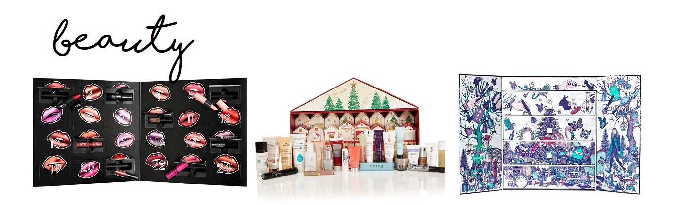 Christmas advent calendars beauty