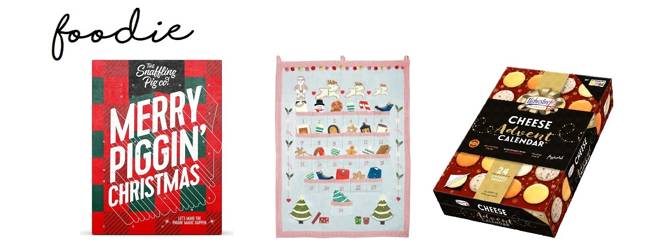 Christmas advent calendars foodie