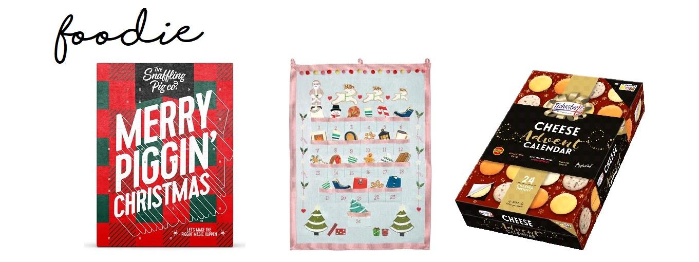 Christmas advent calendars foodie