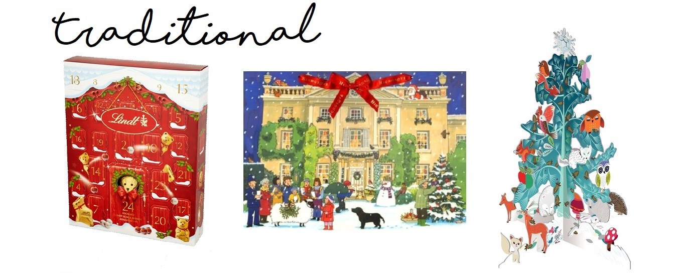 Christmas advent calendars traditional