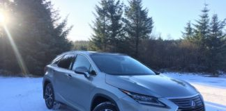 lexus rx suv hybrid review