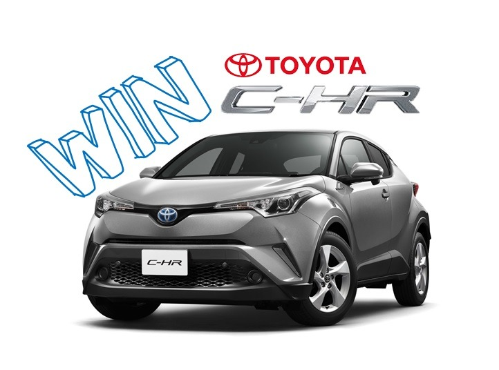 competition toyota chr