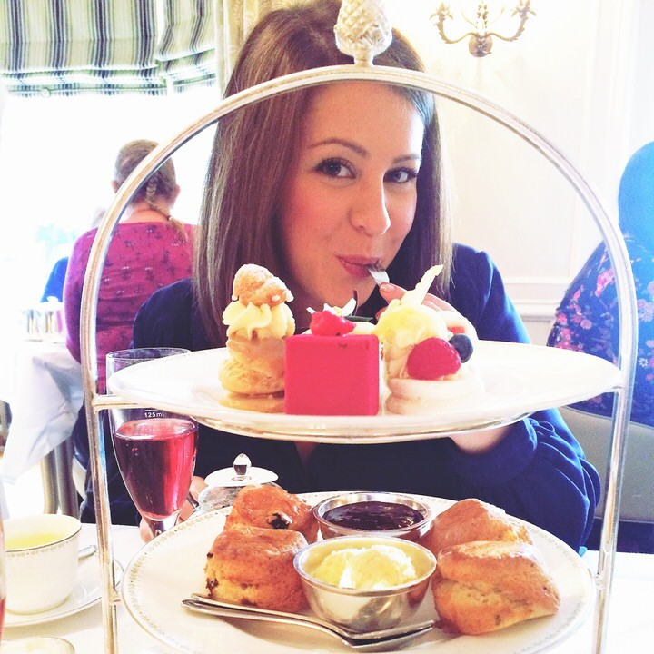 the harrogate girl afternoon tea