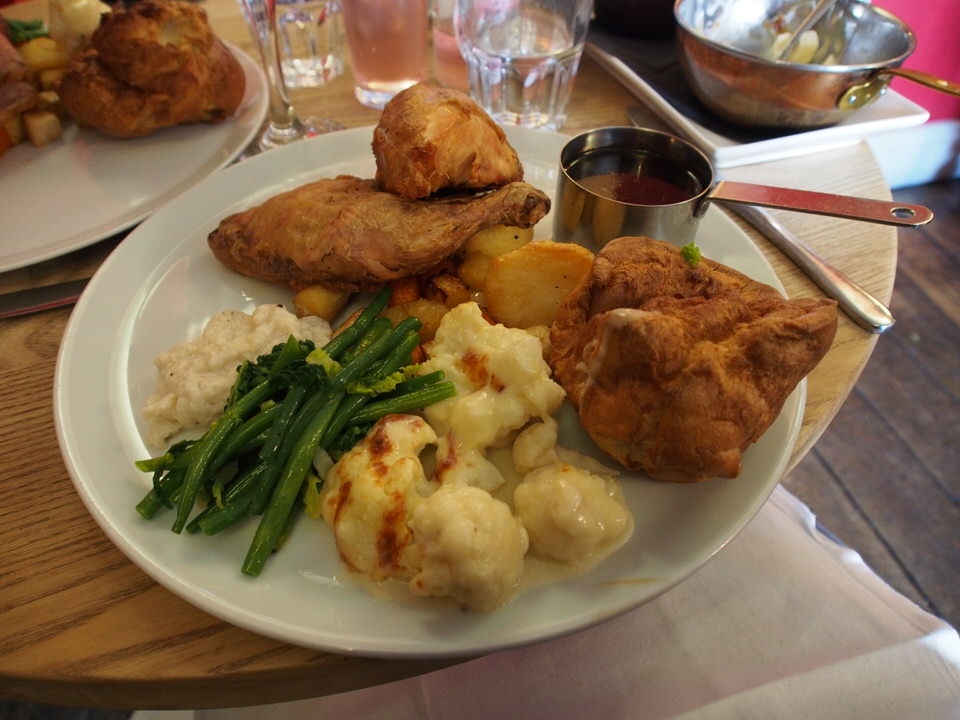 yorkshire sunday roast chicken