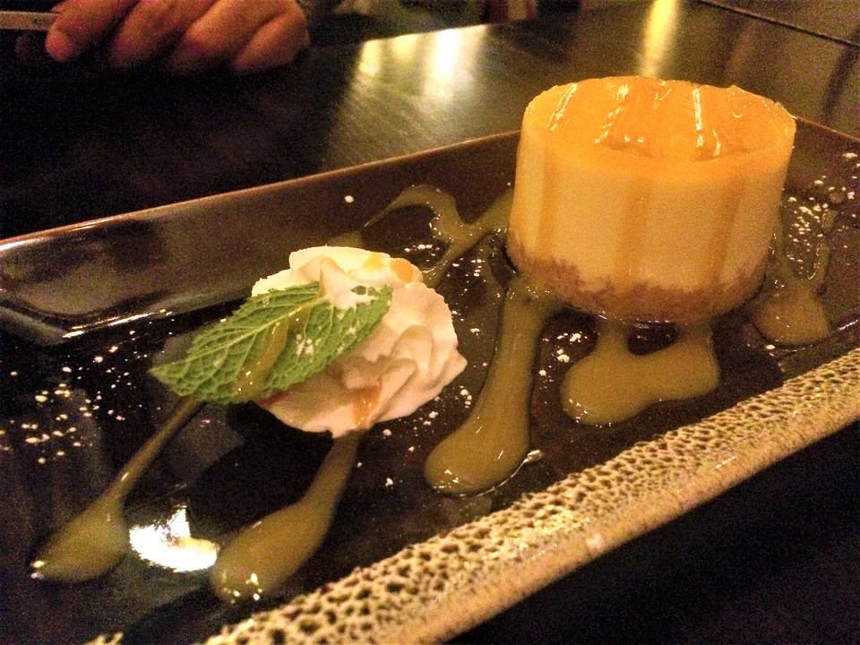 Sukhothai restaurant Harrogate cheesecake