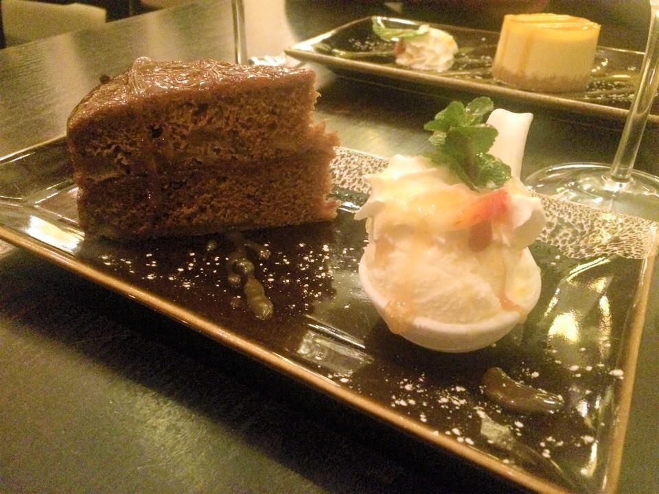 Sukhothai restaurant Harrogate cake