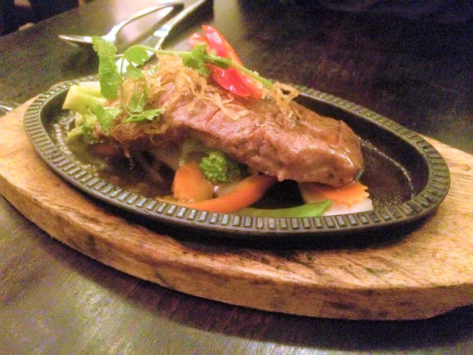 Sukhothai restaurant Harrogate sizzling steak