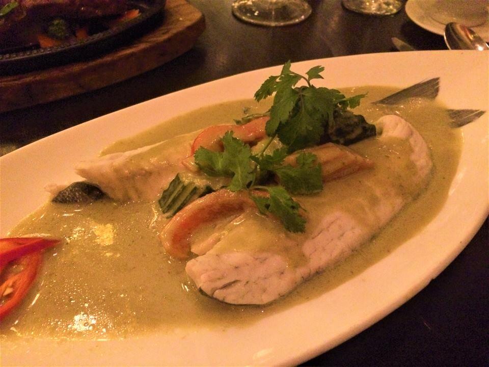 Sukhothai restaurant Harrogate thai green curry