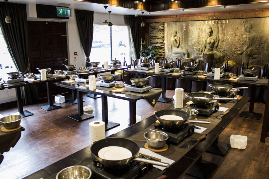 Sukhothai thai cooking classes Harrogate