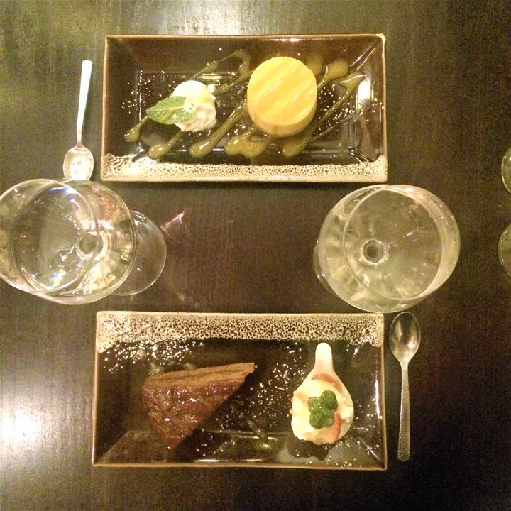 Sukhothai restaurant Harrogate thai dessert