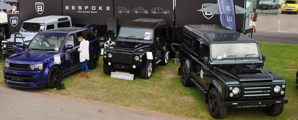 Great Yorkshire Show car exhibitors