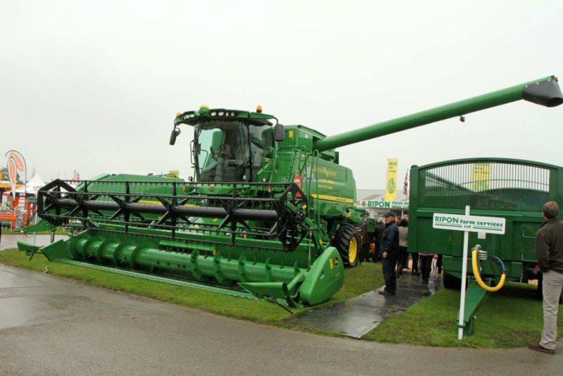 Great Yorkshire Show farm vehicals