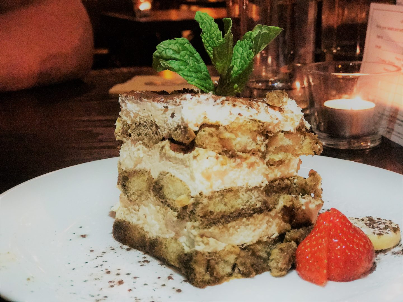 Tiramisu dessert Salvos