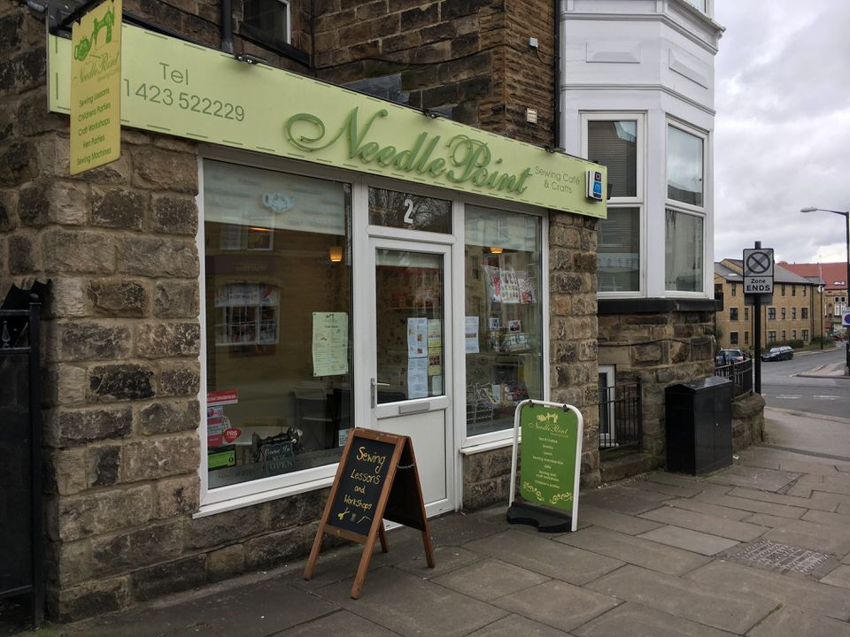 needle point sewing cafe