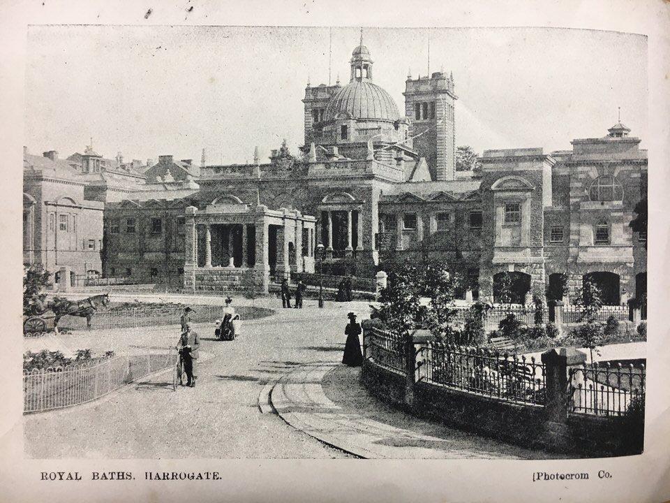royal baths postcard