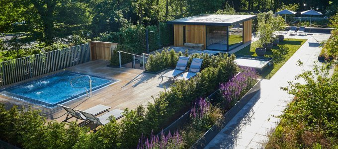 Rudding PArk Spa outdoor spa