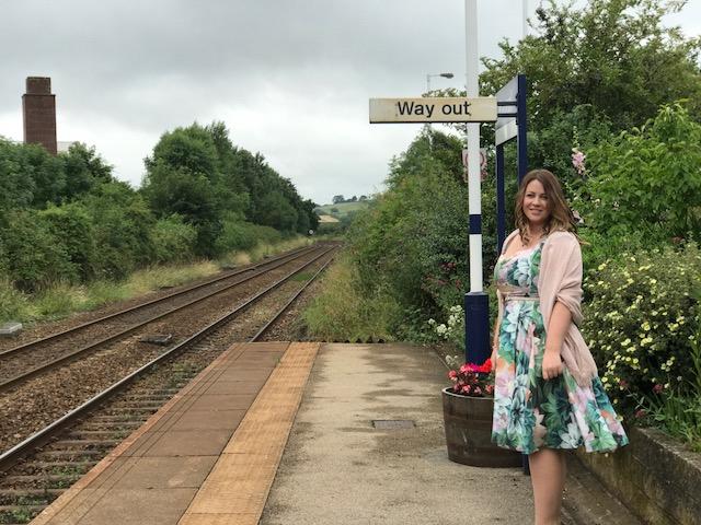 The Harrogate Girl Harrogate to York train line