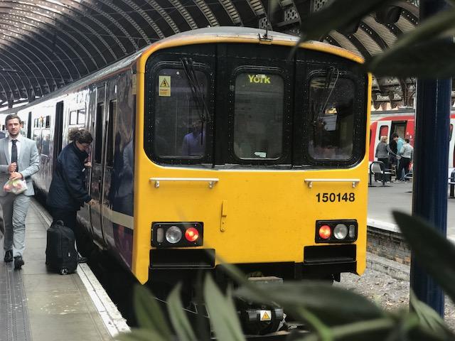 Northern Rail train York station