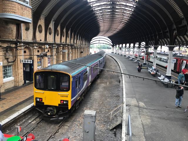 The Harrogate Girl Northern Rail York Staition