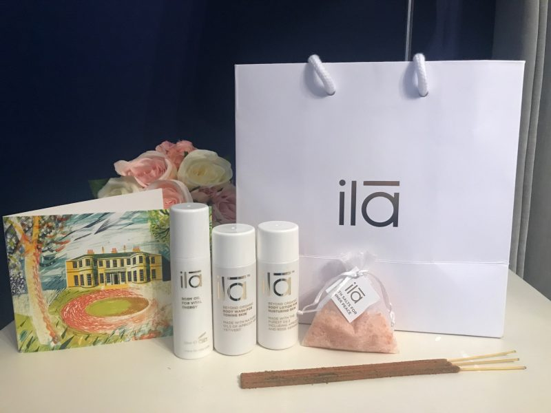 Rudding PArk Spa ila beauty products