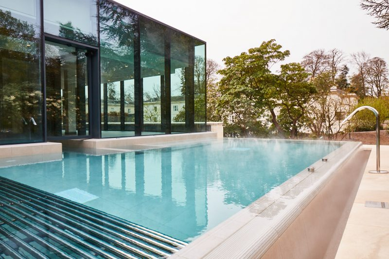 Rudding PArk Spa infinity pool best spa