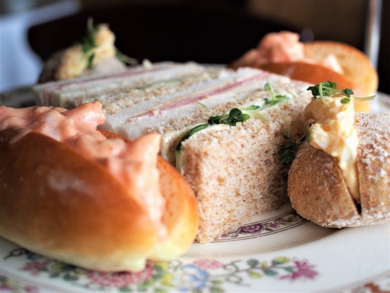 the black swan afternoon tea sandwiches