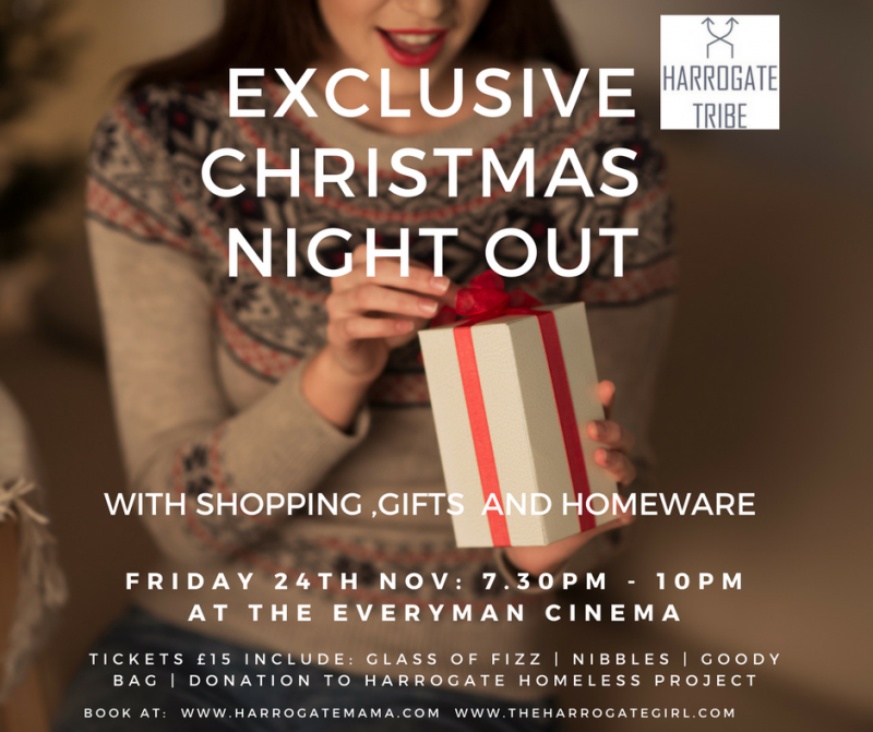 Harrogate tribe christmas night out