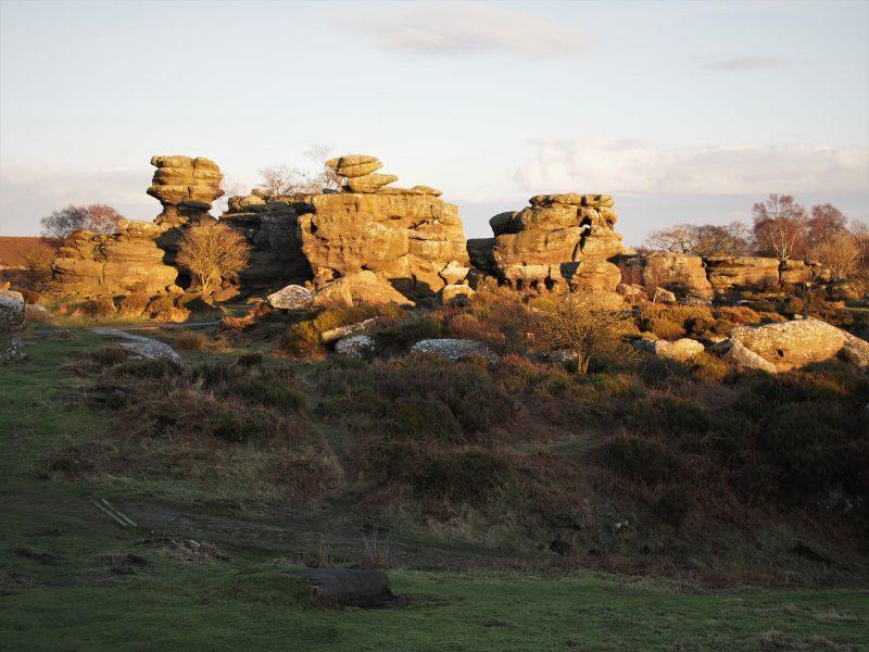the harrogate girl brimham rocks yorkshire