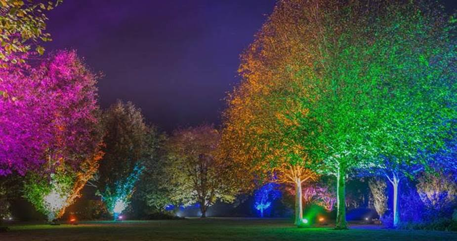 winter events yorkshire rhs harlow carr glow