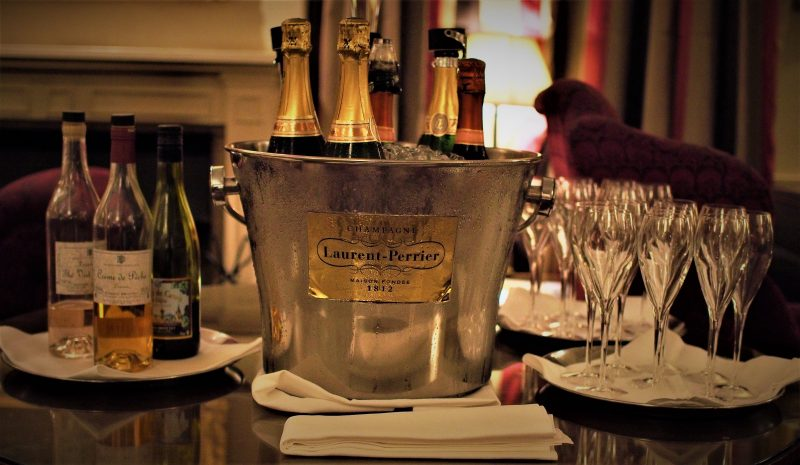 Burlington restaurant champagne devonshire arms