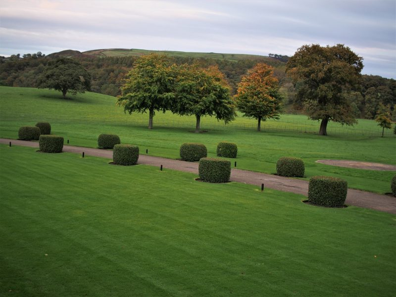 Devonshire Arms Hotel and Spa gardens