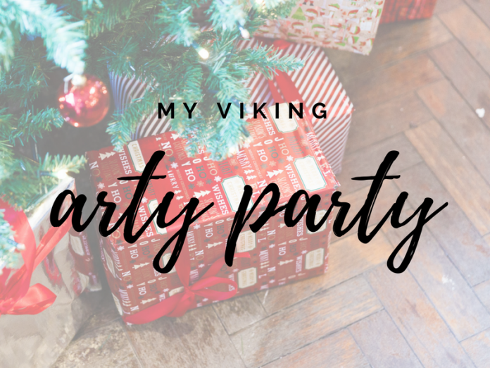 Viking direct #ArtyParty christmas party