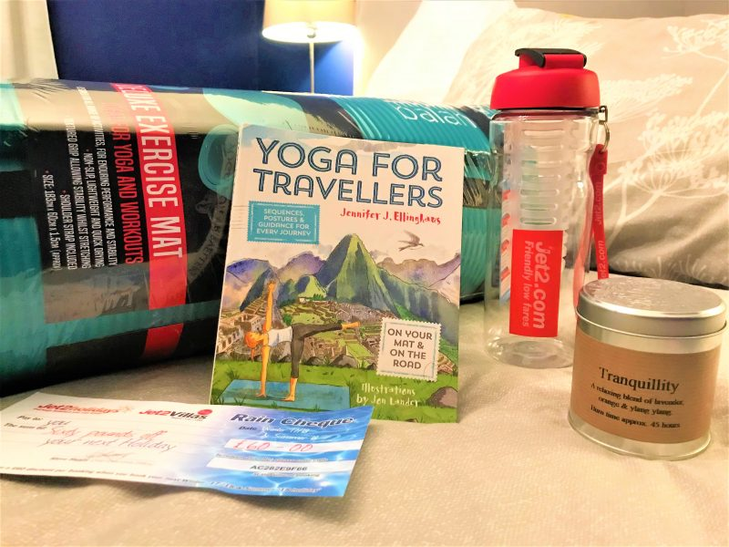 my jet2 package yoga travel