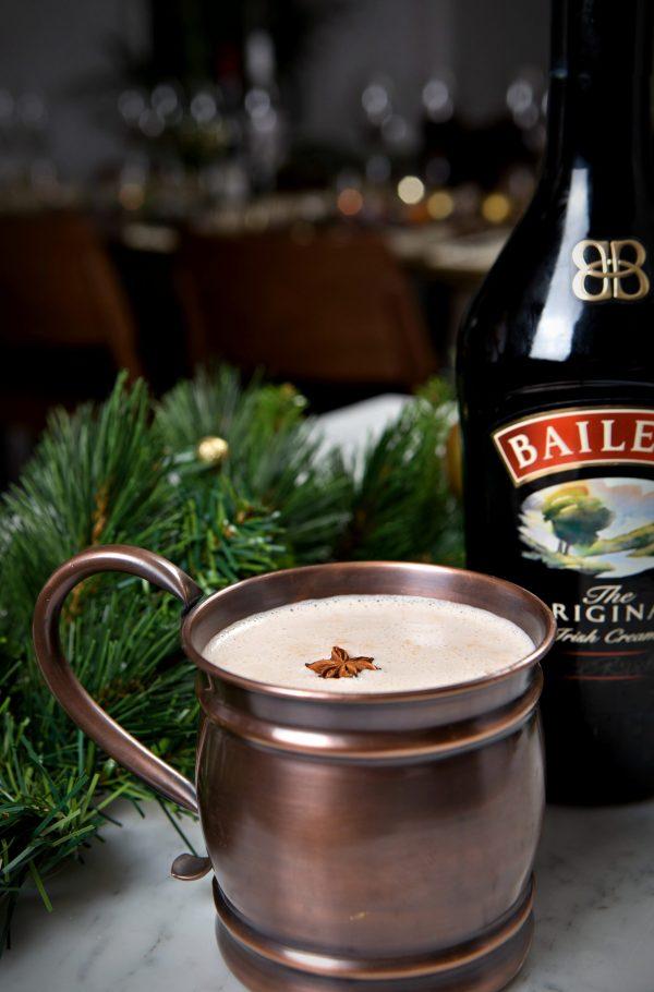 Alexander's Bar and Kitchen hot chocolate