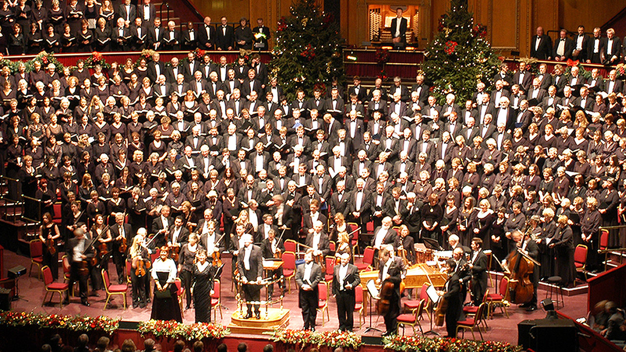 Handel Messiah royal hall christmas
