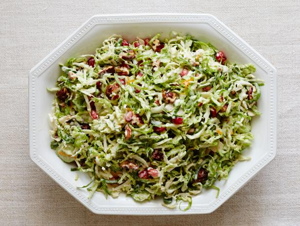 Sprouts at christmas sprout slaw