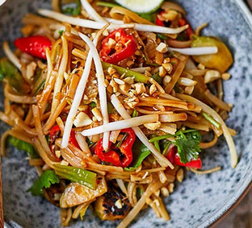 Sprouts at christmas sprut pad thai