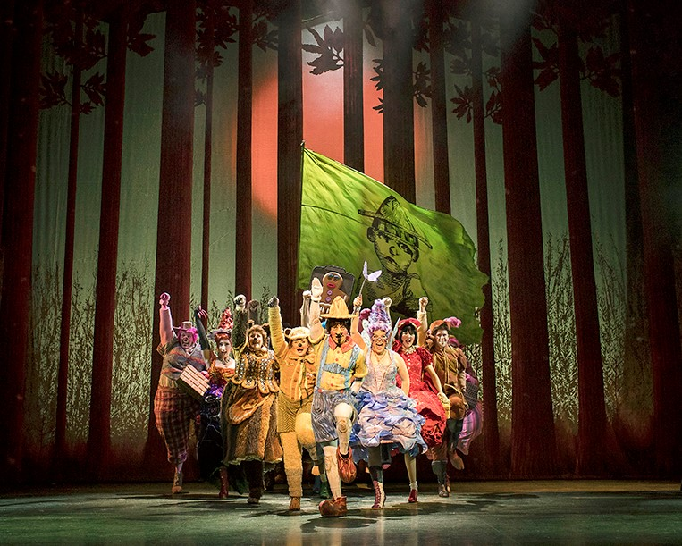Shrek the musical manchester the cast