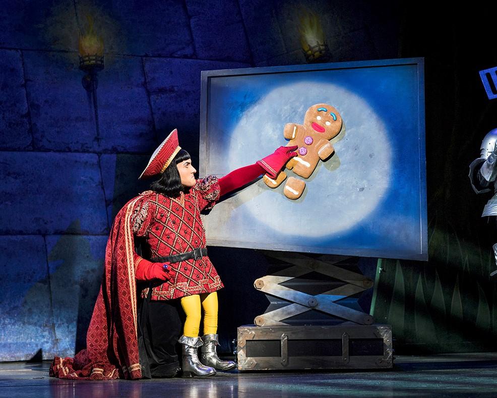 Shrek the musical manchester theatre
