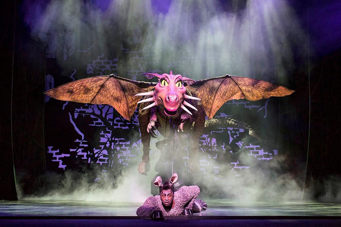 Shrek the musical manchester