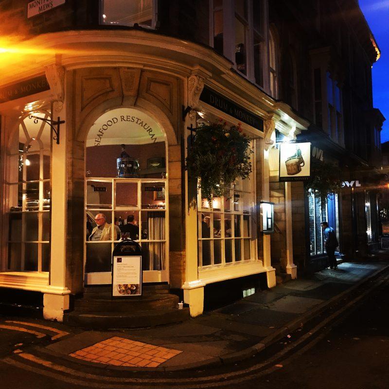 The Harrogate Girl Drum and Monkey Restaurant Harrogate