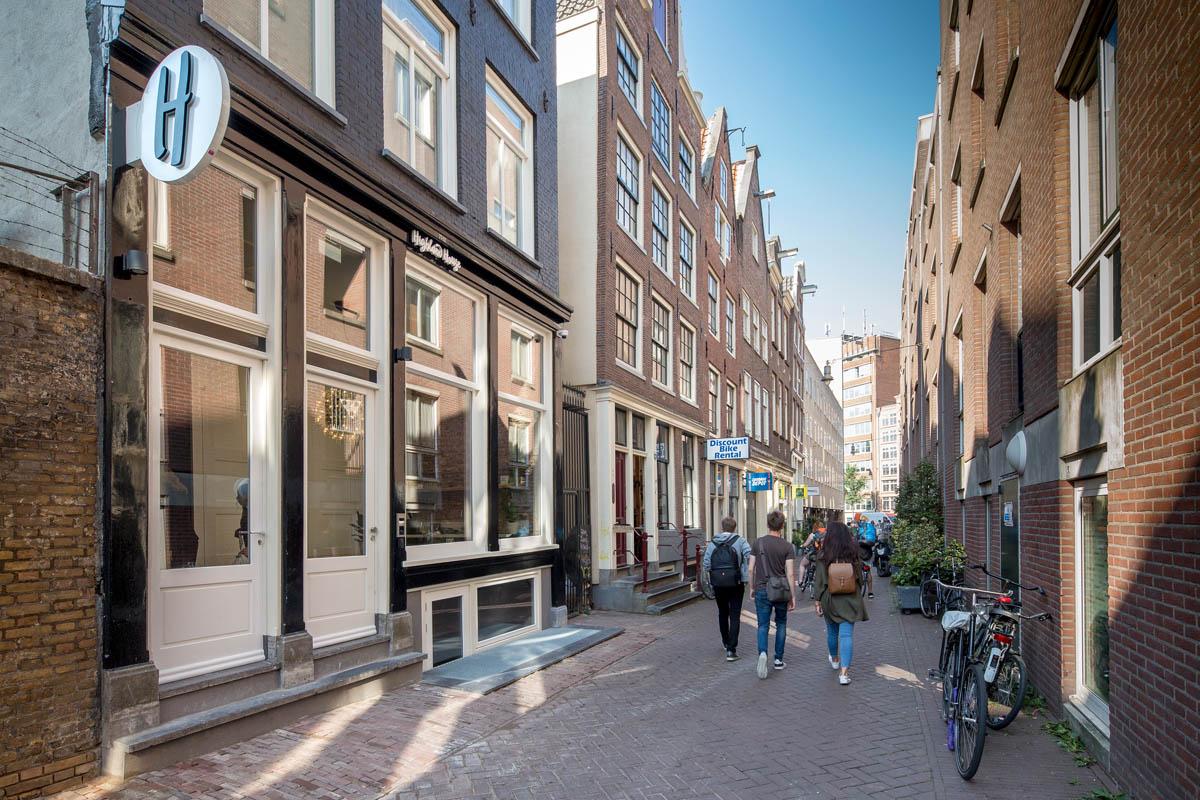 the harrogate girl accommodation in Amsterdam