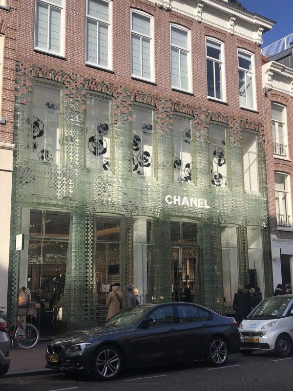 the Harrogate girl Amsterdam shopping