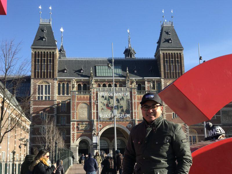 the harrogate girl I am Amsterdam
