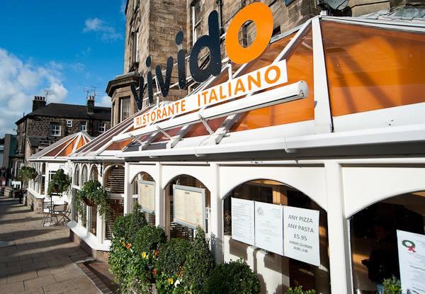 Harrogate restaurant Italian menu