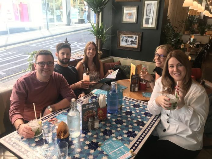 The Harrogate Girl Bottomless Brunch Yorkshire eating out