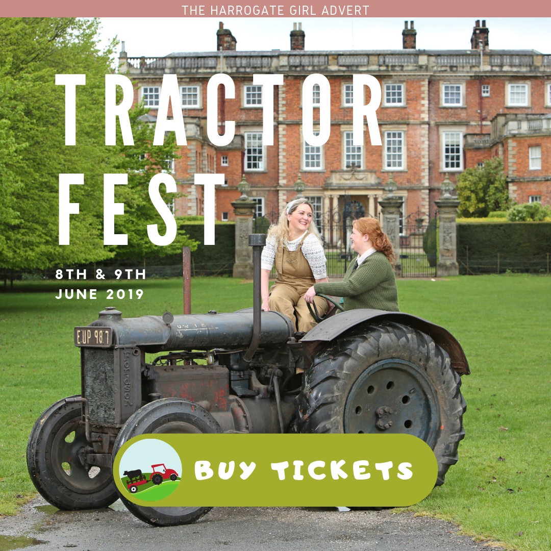 Tractor Fest Harrogate blogger Newby Hall The Harrogate Girl Offer