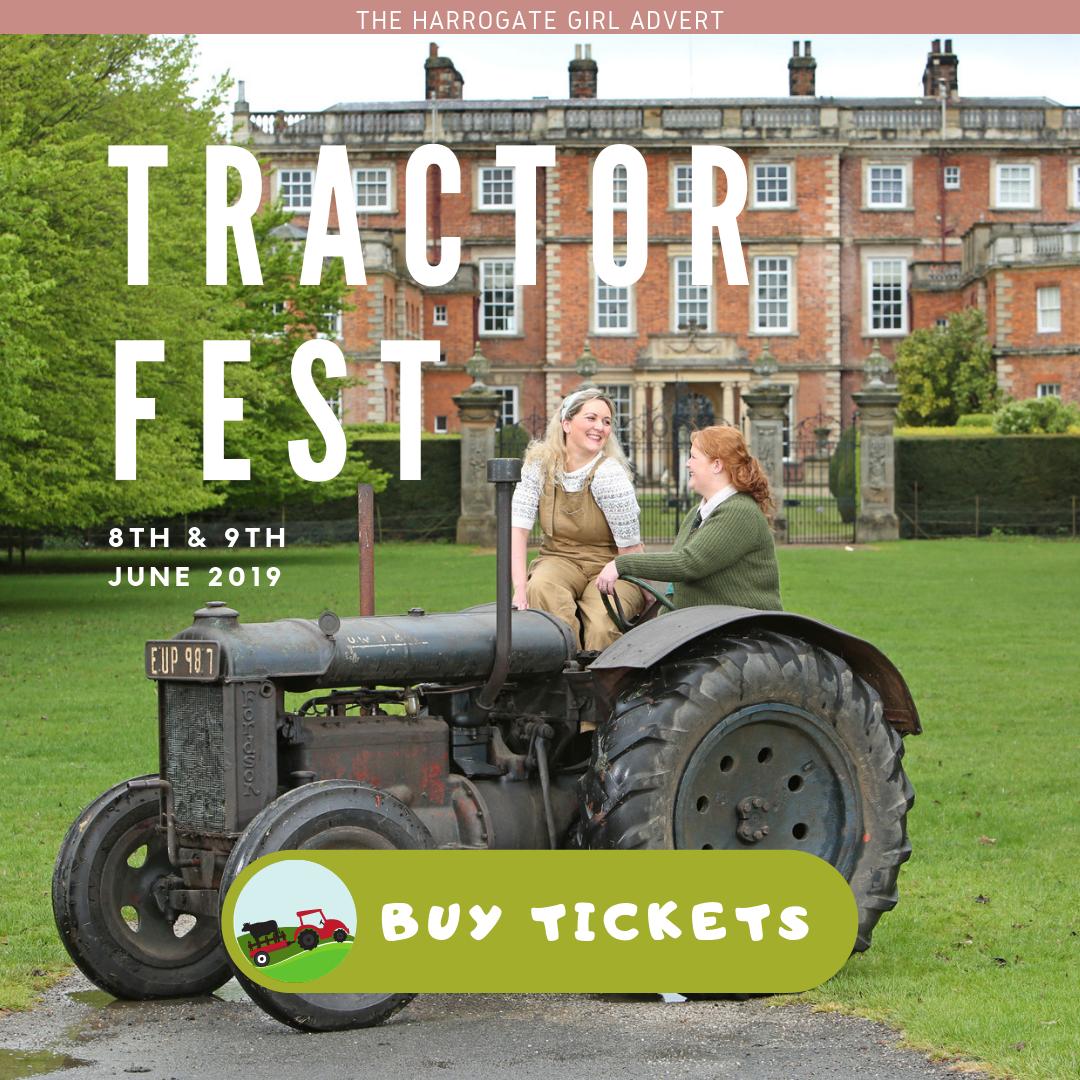 Tractor Fest Harrogate blogger Newby Hall The Harrogate Girl Offer