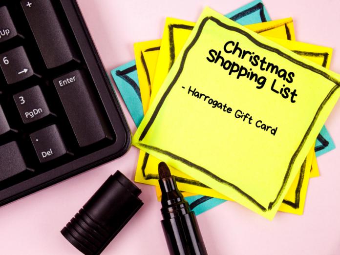 Harrogate gift card, harrogate blogger, Yorkshire, Christmas gift